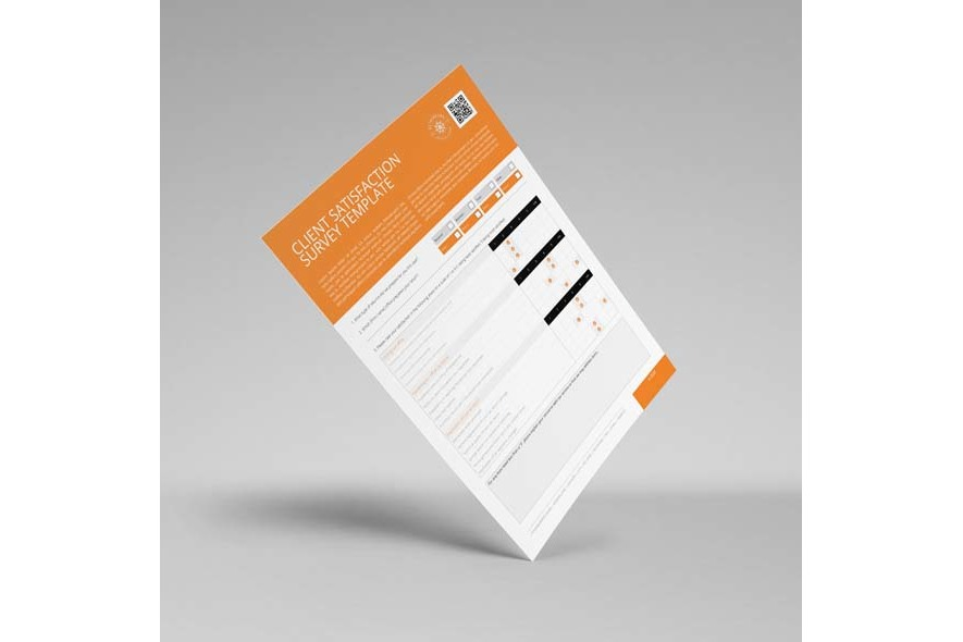 Client Satisfaction Survey Template example image 2
