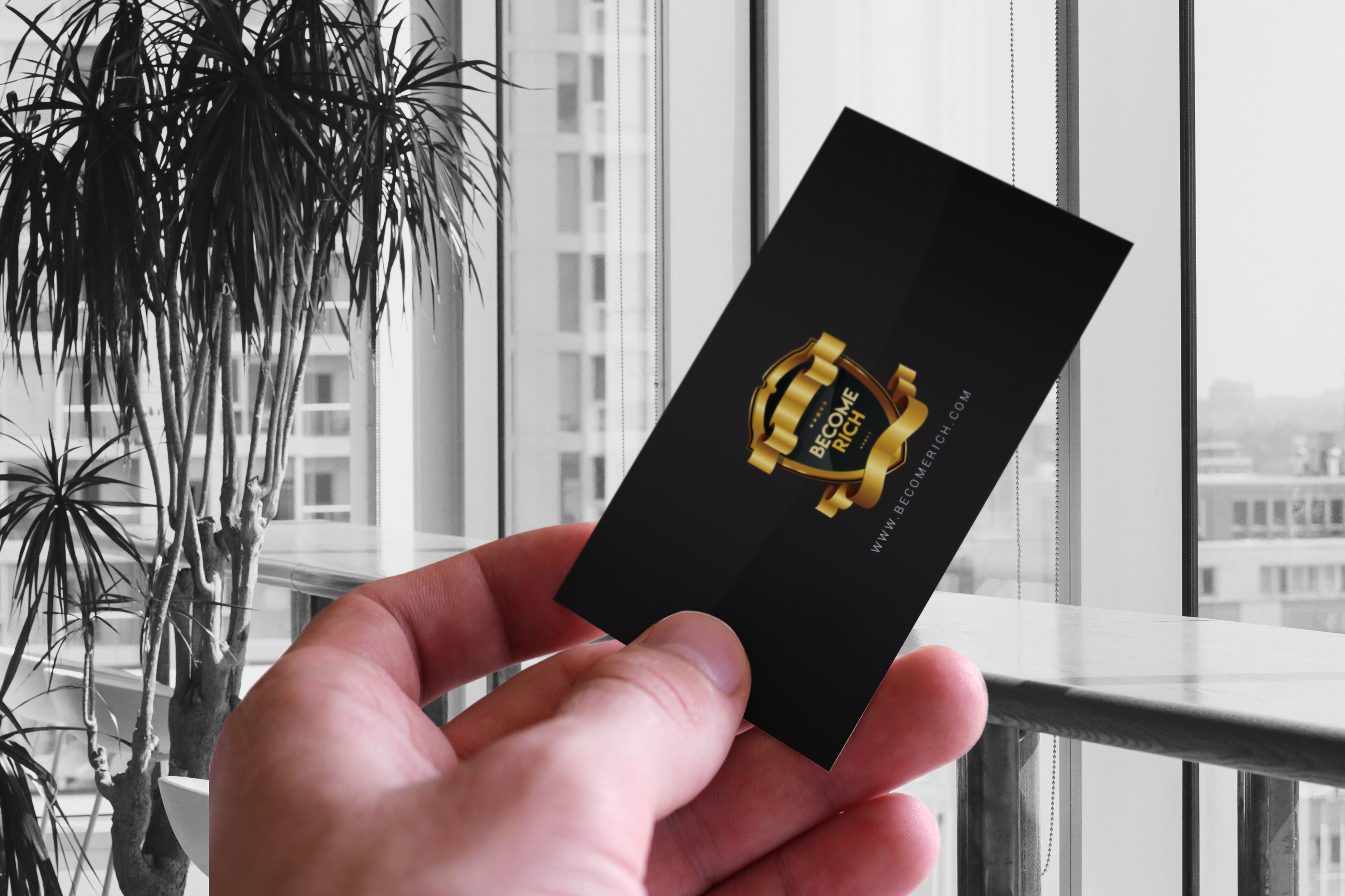 Luxury Business Card example image 5