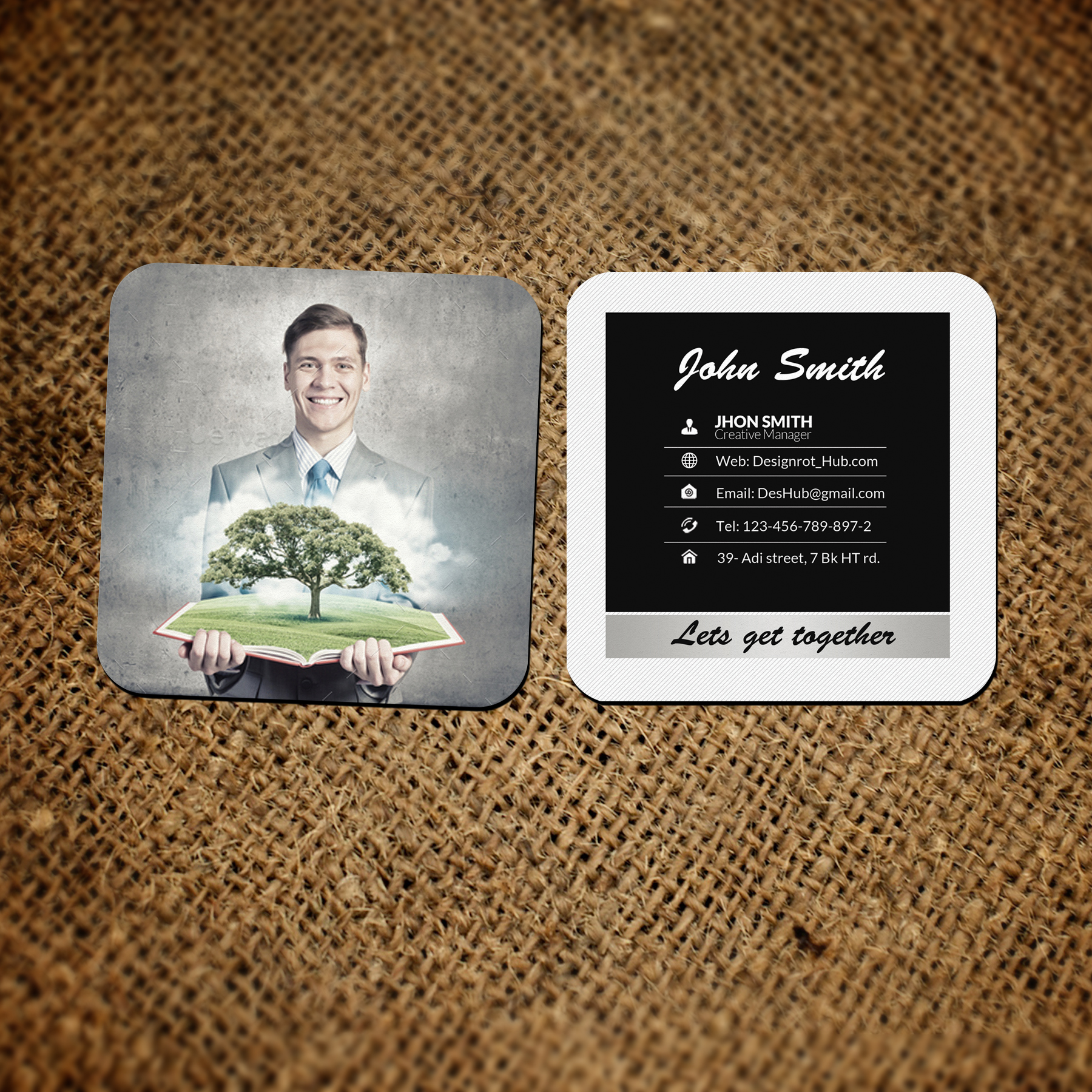 Green Energy Social Cards example image 2