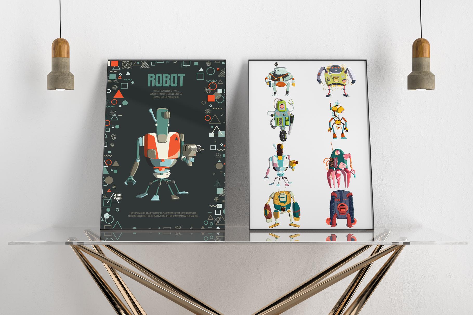 Retro robots example image 7