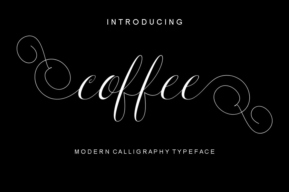 Calligraphy Script Bundle example image 7