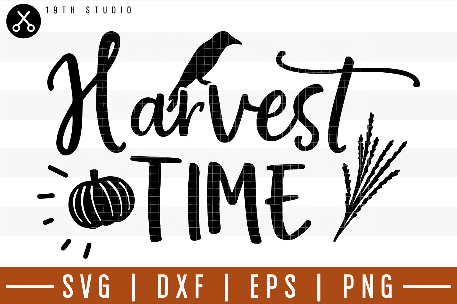 Harvest Time SVG| Fall SVG example image 1