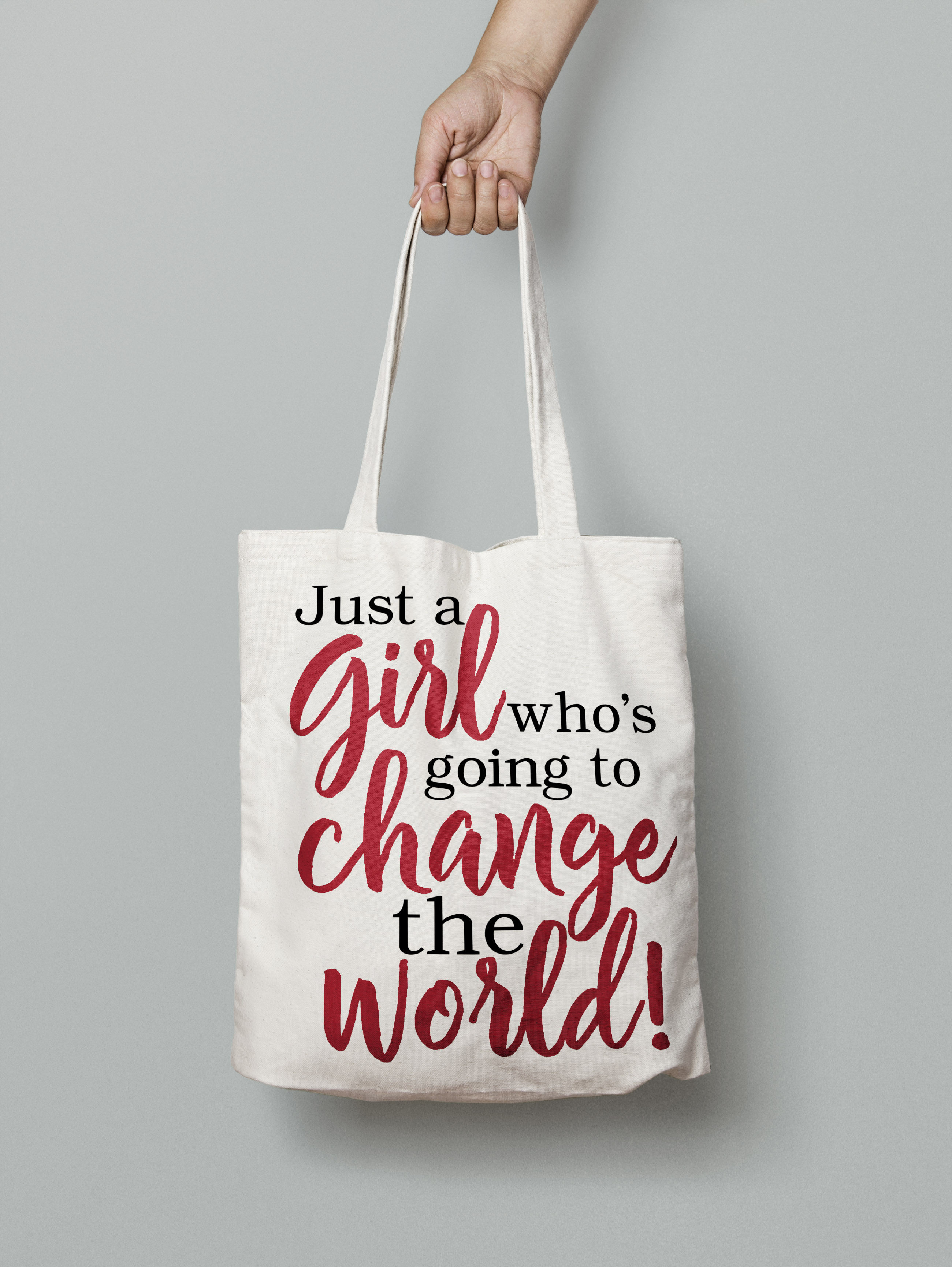 Just a girl who's going to change the world svg digital example image 5
