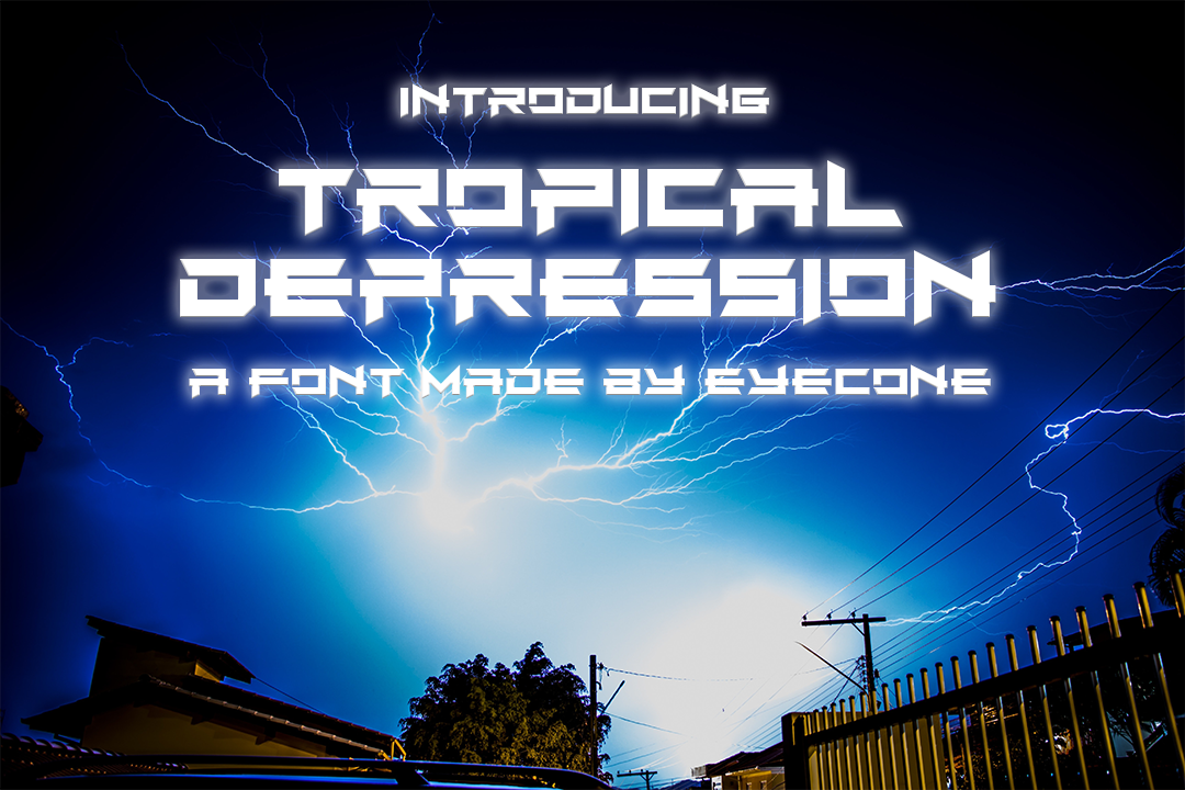 Tropical Depression example image 1