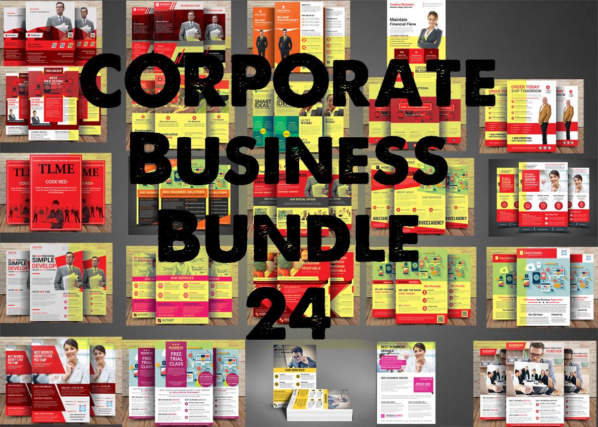Corporate Business Bundle 24 example image 1