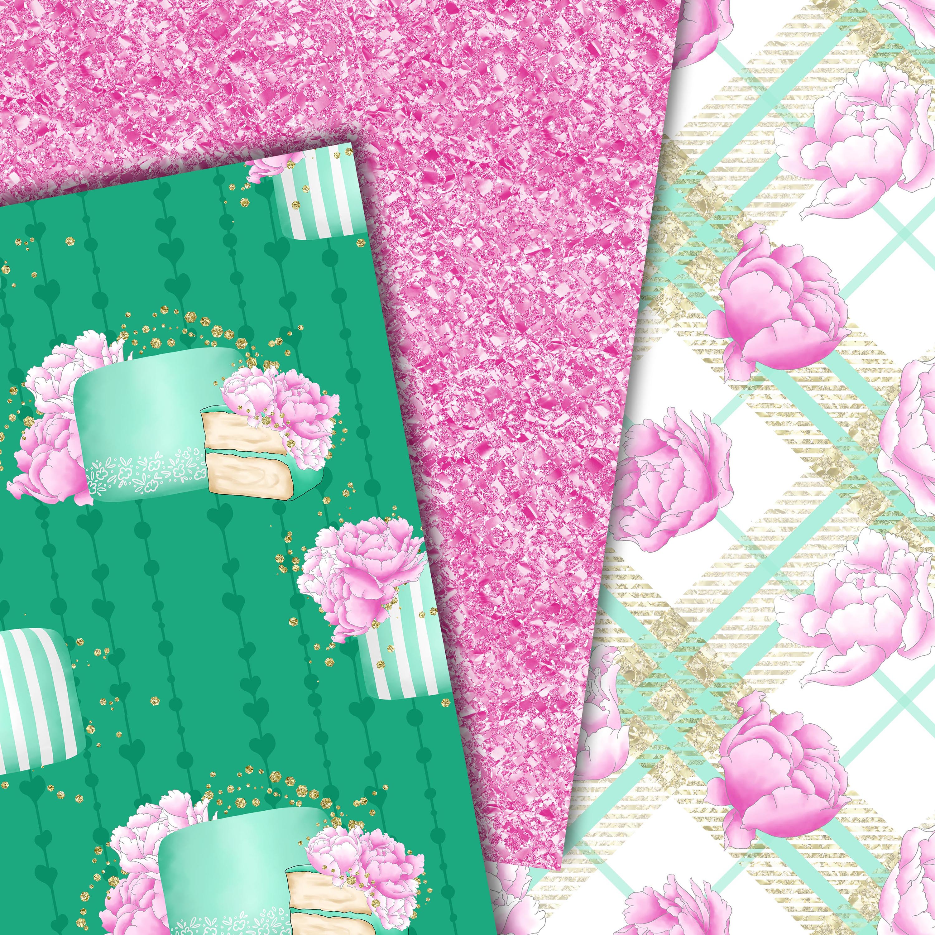 Sweet cakes patterns example image 3