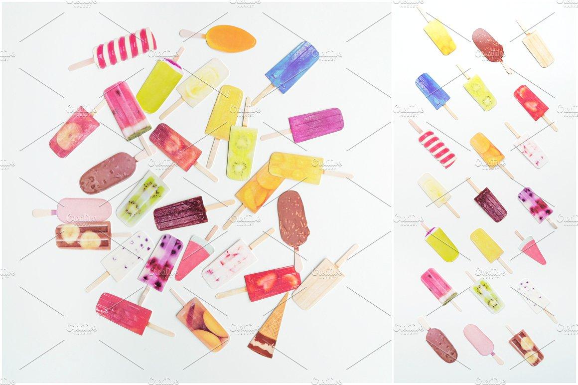 Summer Photo Bundle - Ice Lollies example image 2