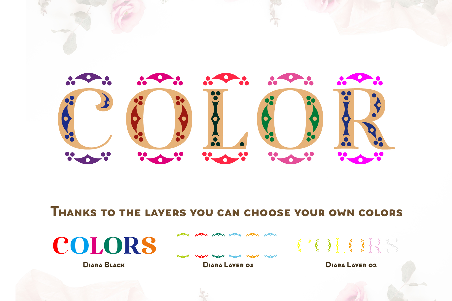 Diara Wedding Font example image 7