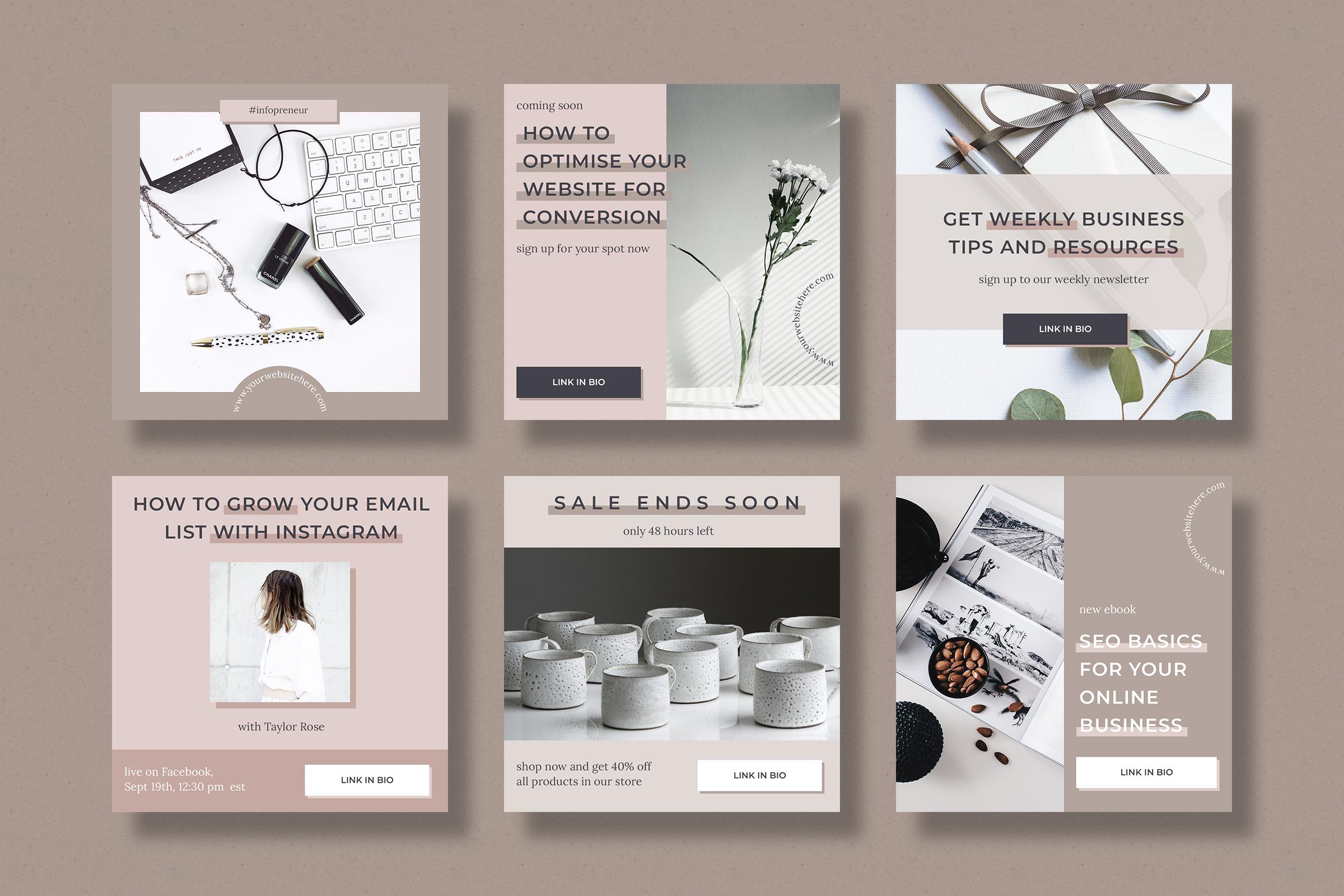 Instagram marketing bundle for bloggers example image 6