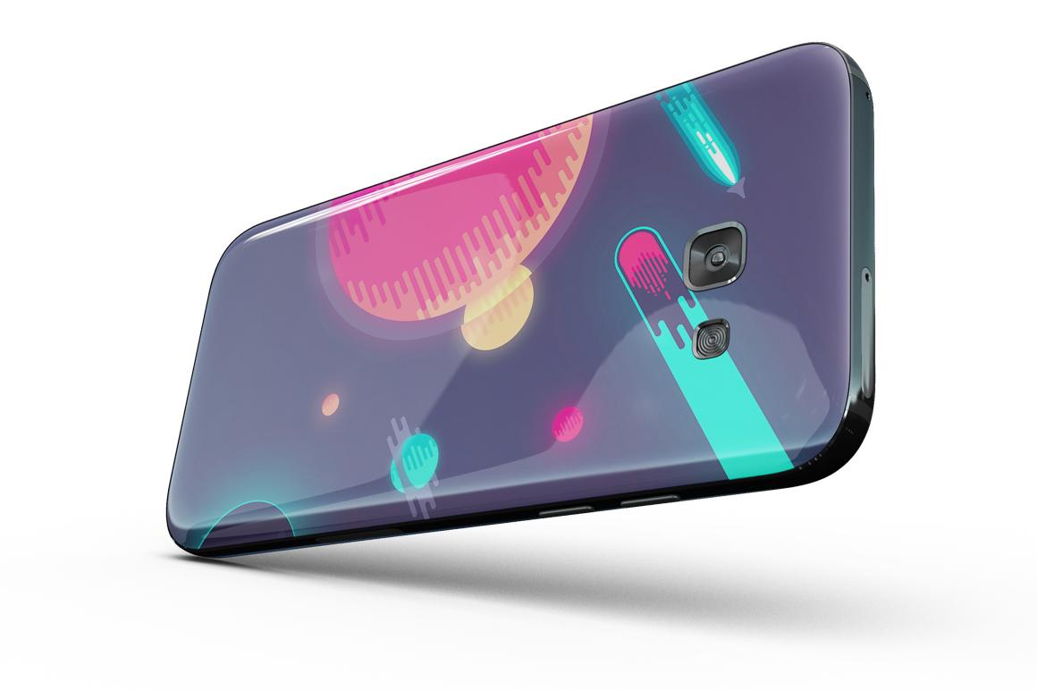 Samsung Galaxy A7 Mockup example image 10