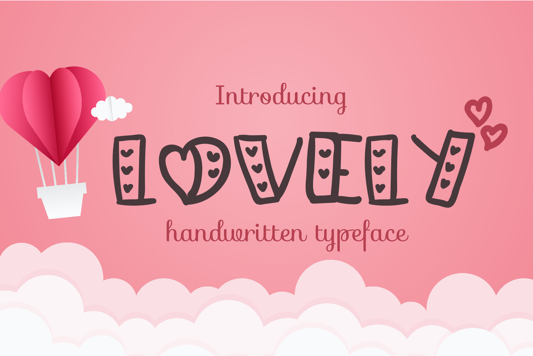 Lovely - Love Handwritten Font example image 1