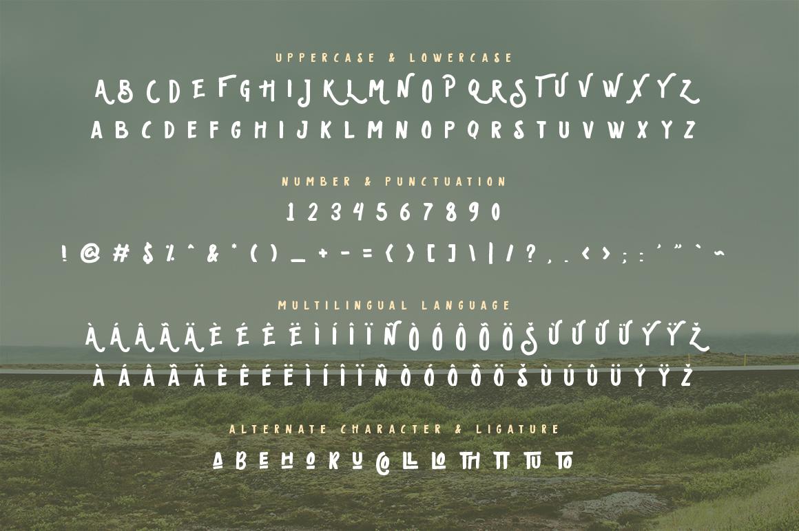 Oldventure - Handbrushes Typeface example image 2