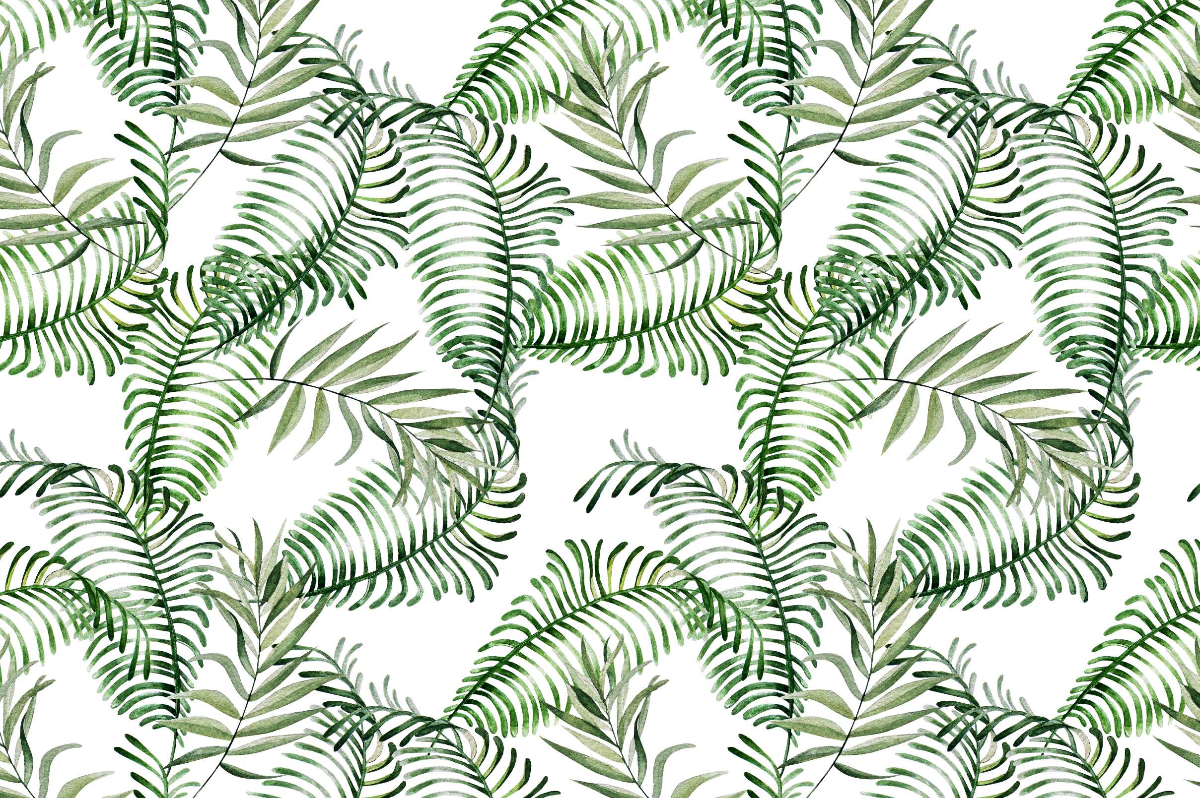 16 Hand Drawn Watercolor Pattern example image 14