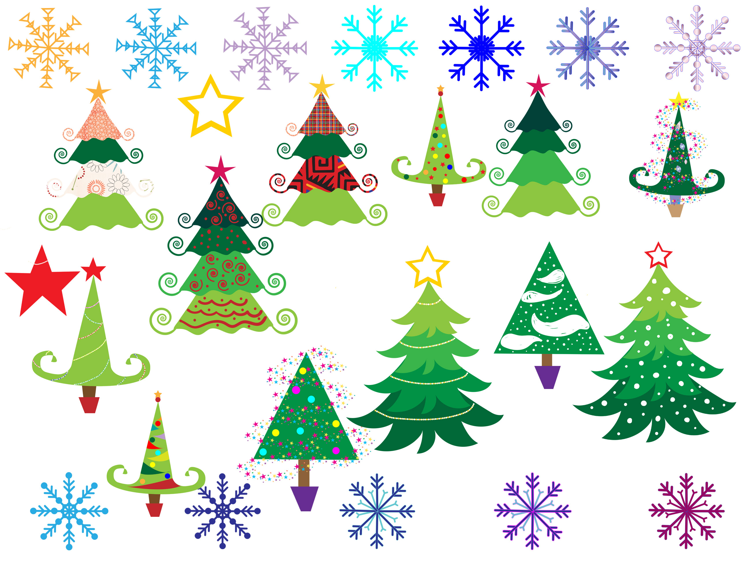 Christmas Tree Clipart example image 2