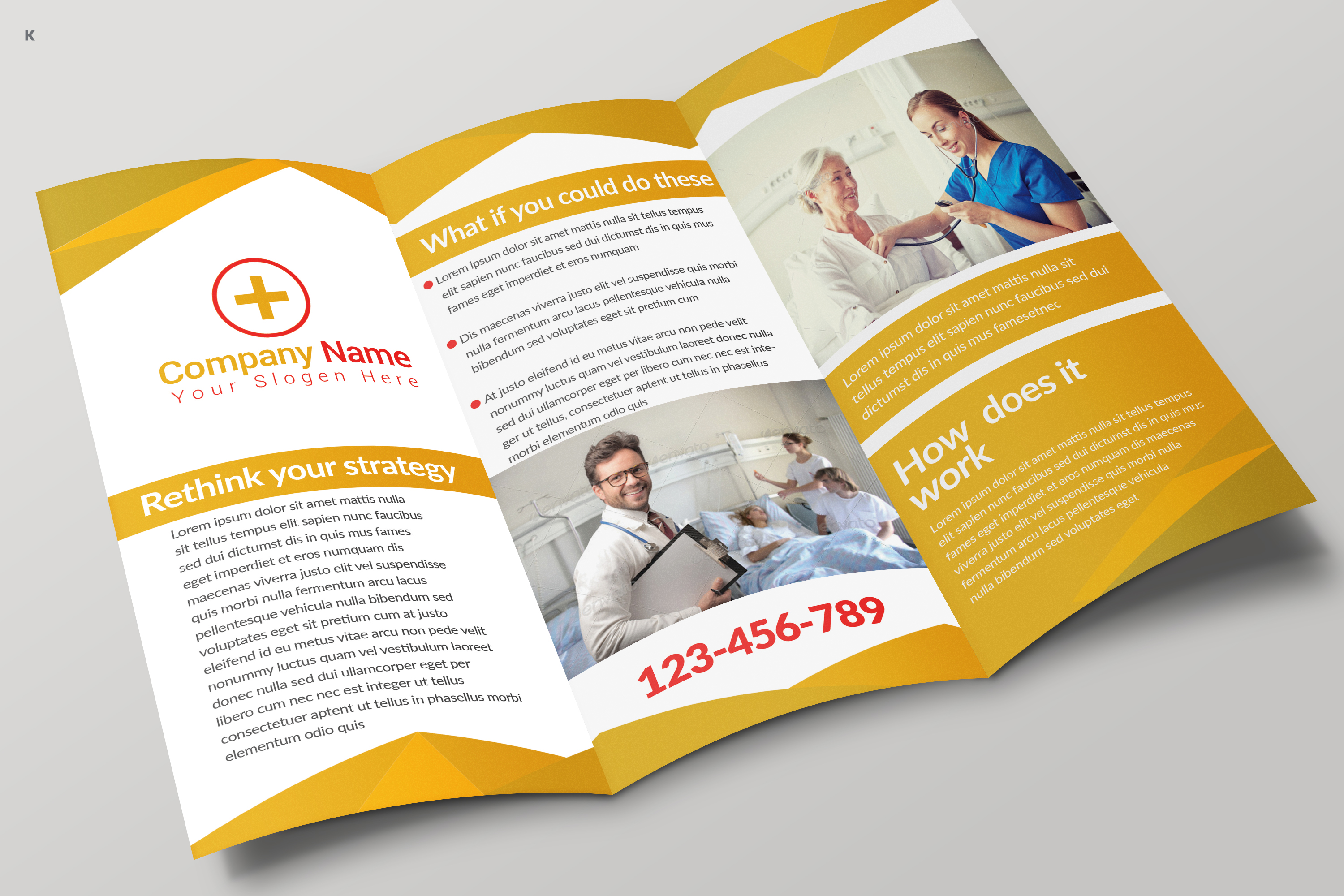 Health Care Trifold example image 6