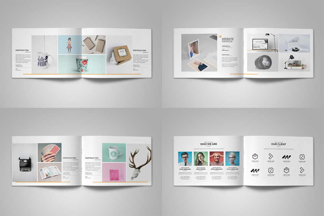 Portfolio Brochure Bundle example image 19