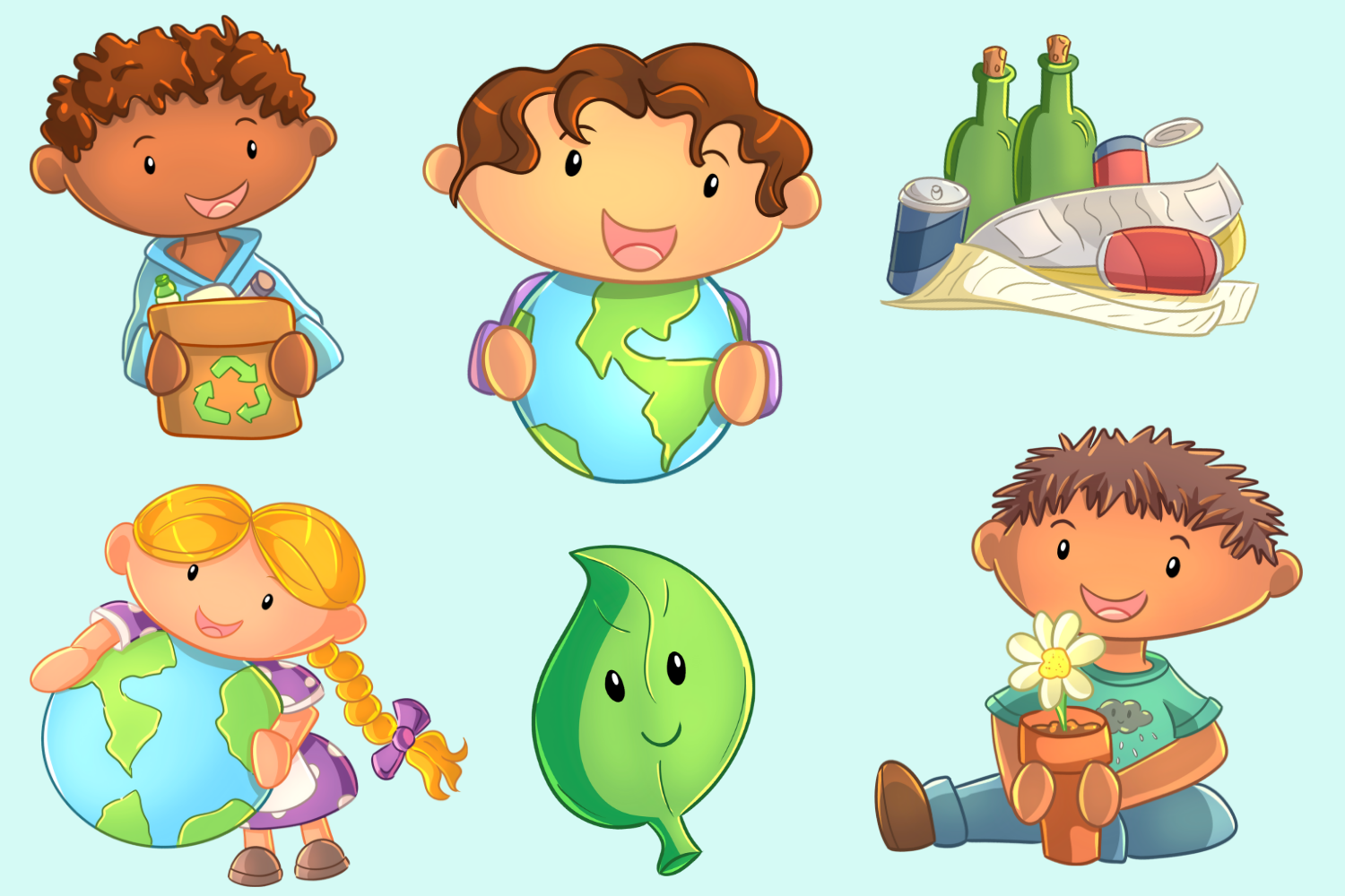 Earth Day Clip Art Collection example image 3