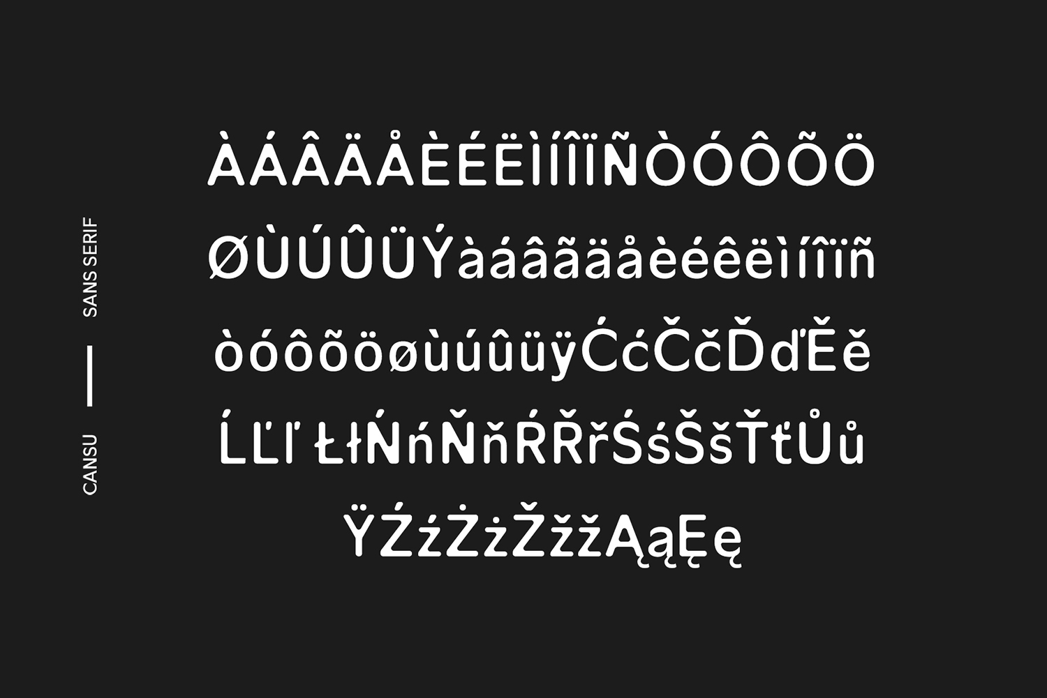 Cansu Sans Serif Font Family example image 9