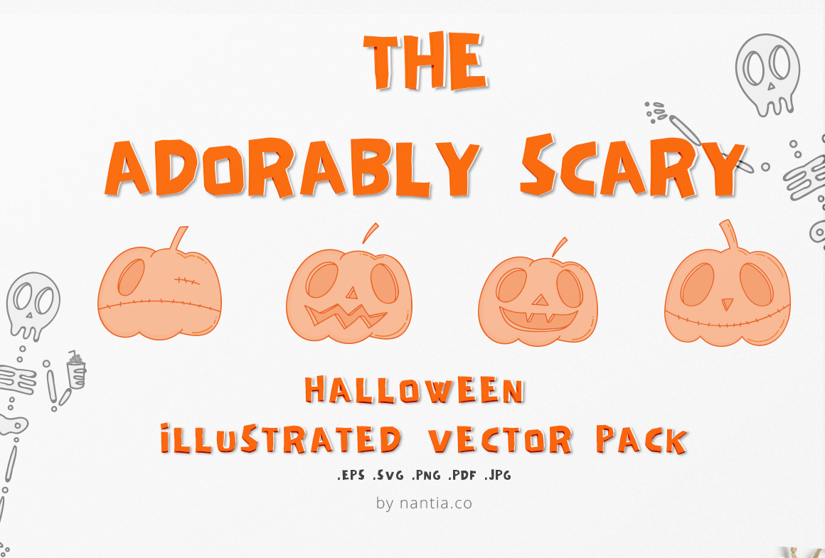 Adorably Scary Halloween Pack example image 1
