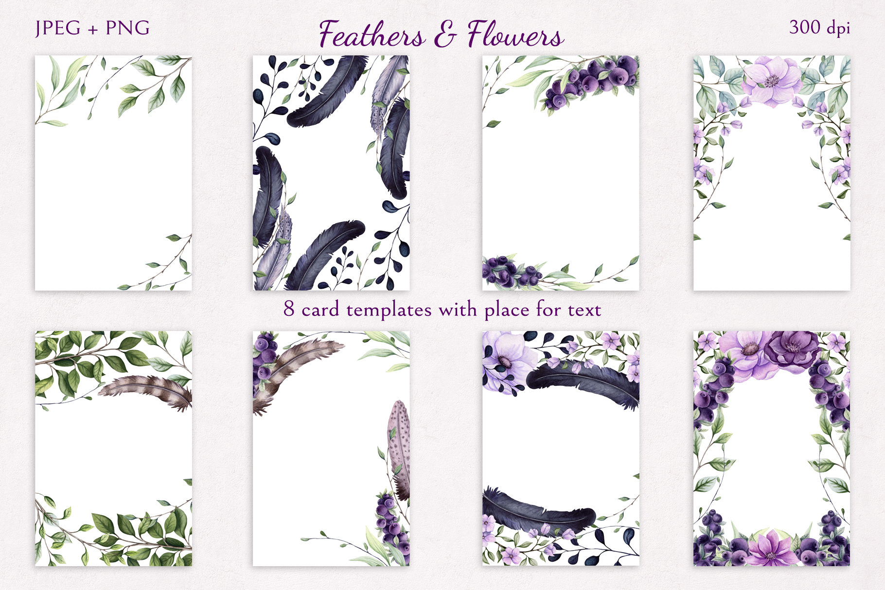 Feathers & Flowers example image 5