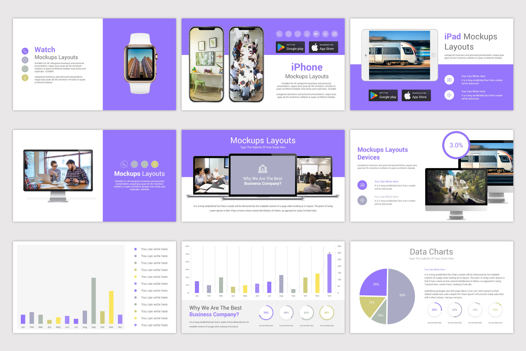 Company Profile Keynote Template example image 20