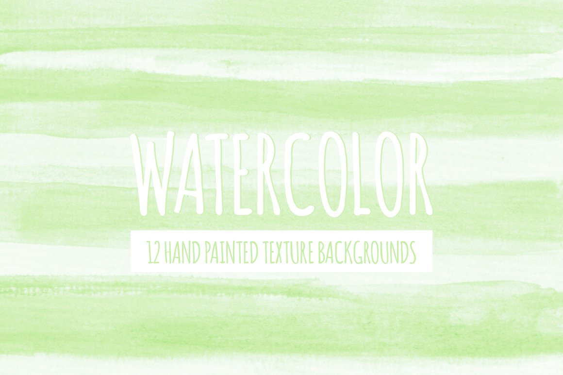 Watercolor Texture Bundle + Bonus example image 22