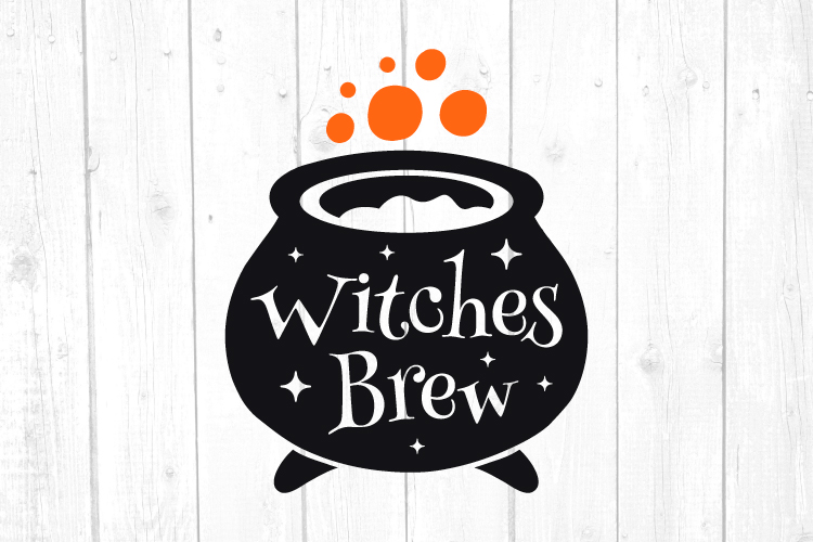 Witches Brew Svg, Witch Svg, Halloween Svg, Home Decor example image 1