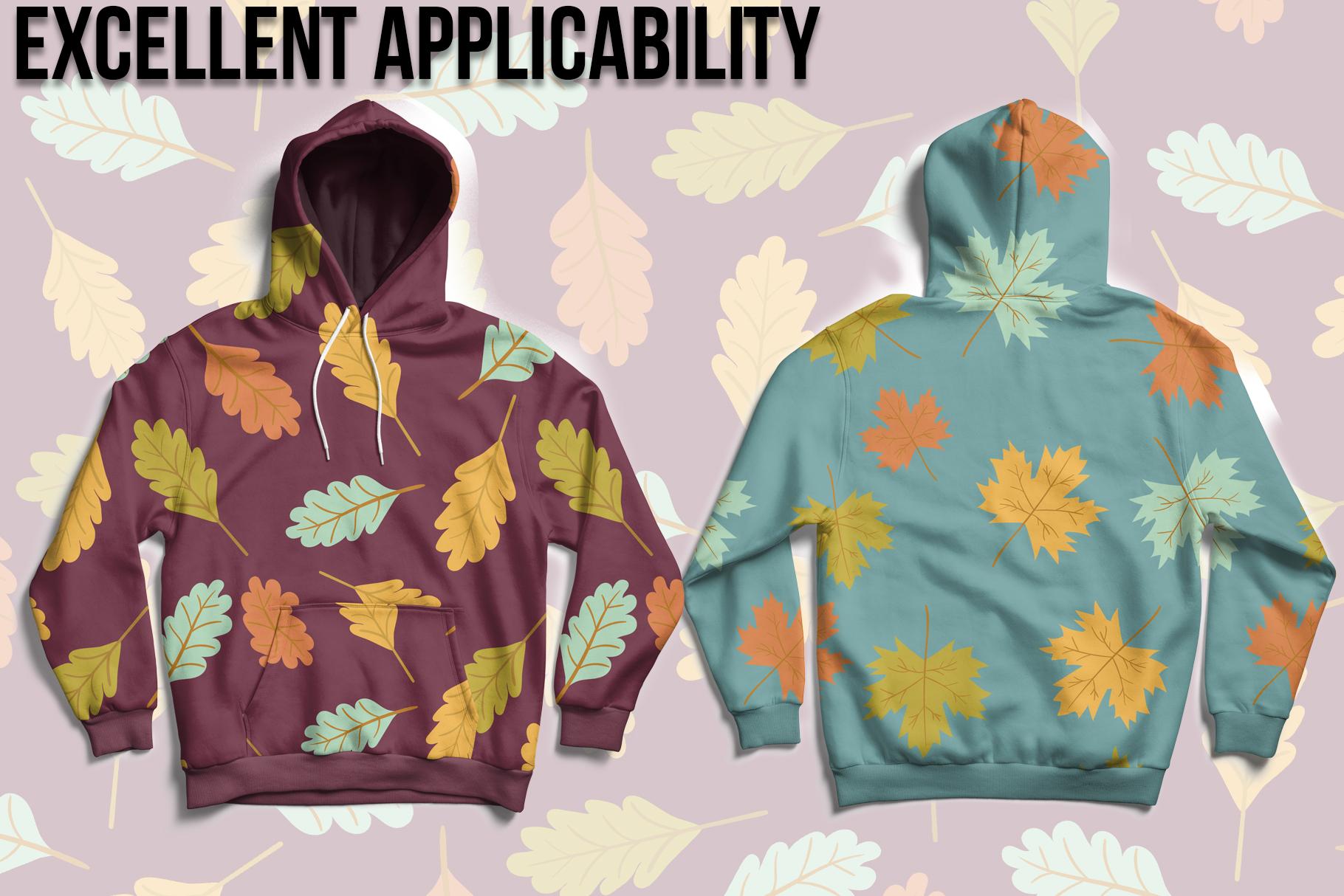 Autumn Seamless Patterns example image 5