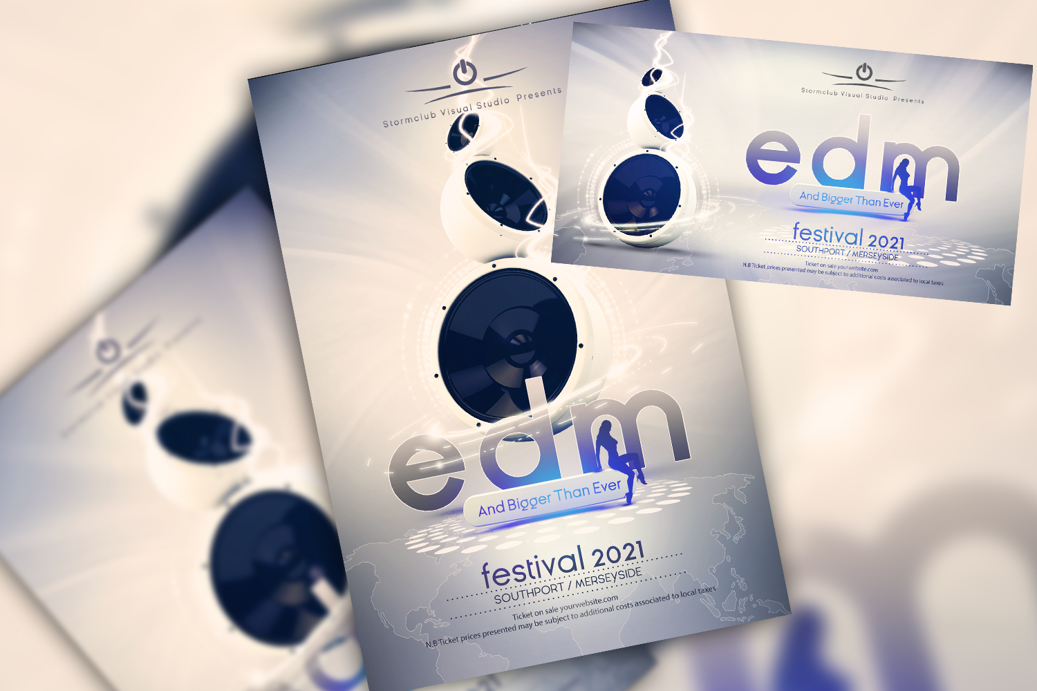 EDM Flyer Template example image 1