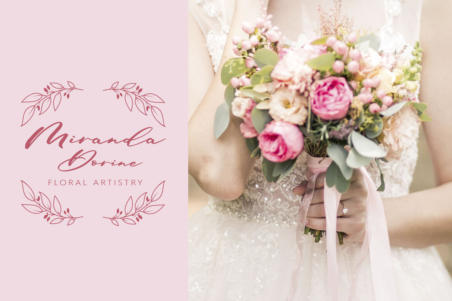 Maid Of Honor - A script font with matching doodles example image 6