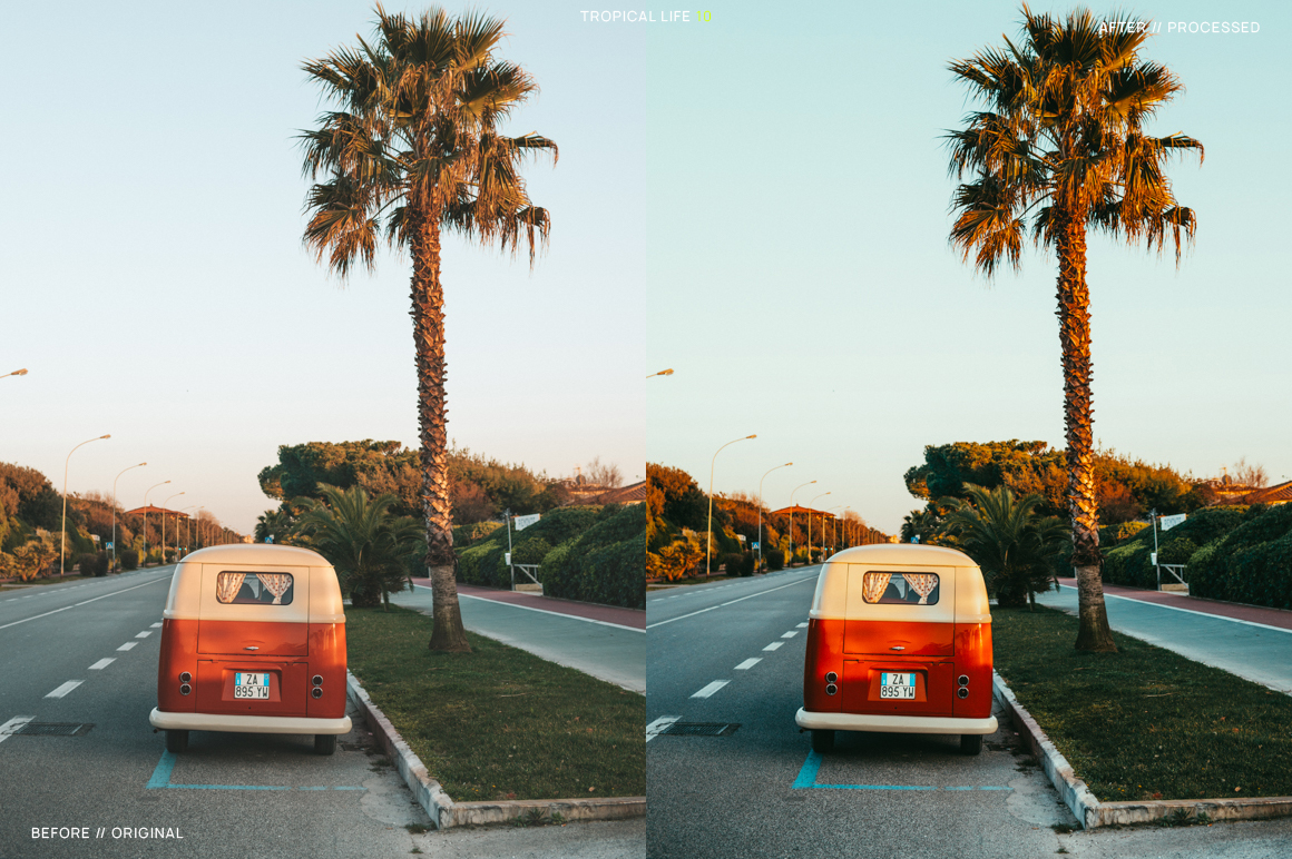 12 Tropical Life Presets for Lightroom example image 12