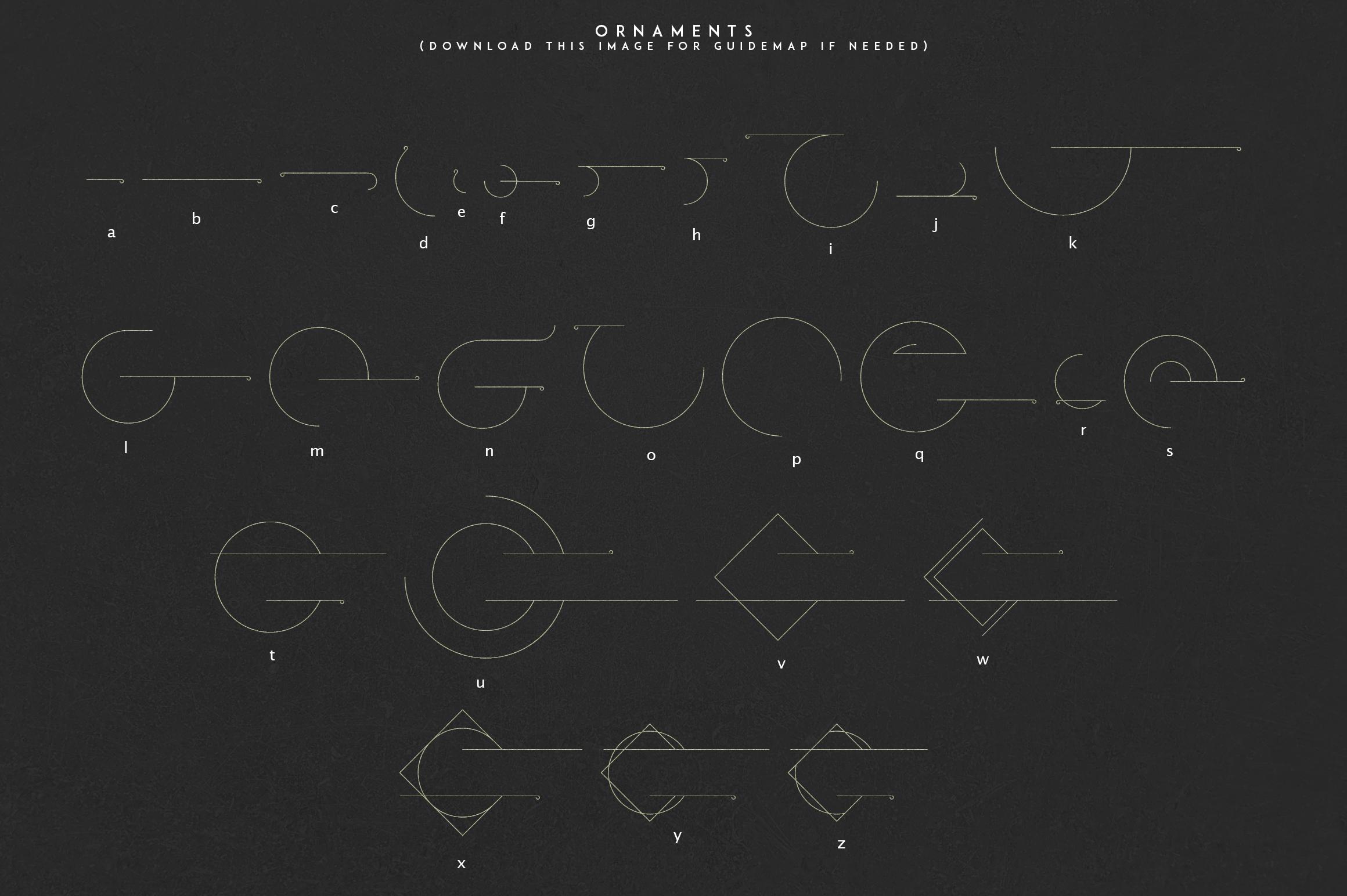Momentus serif font-Extras example image 10