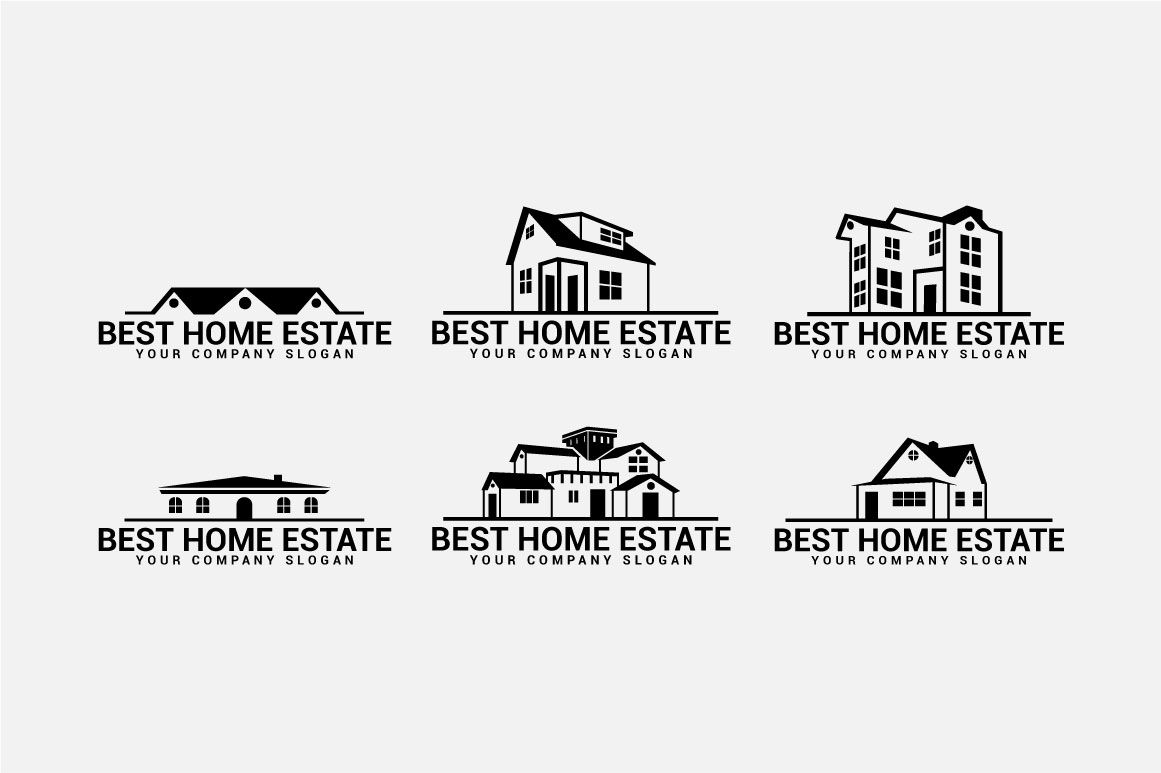 Real Estate Logo & Badges example image 11