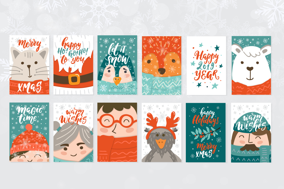 72 Christmas cards example image 8