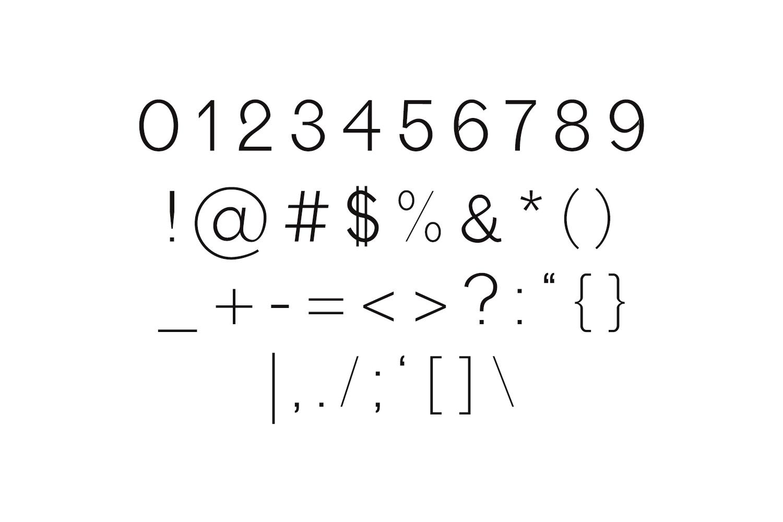 Edina Sans Serif Minimal Typeface example image 4