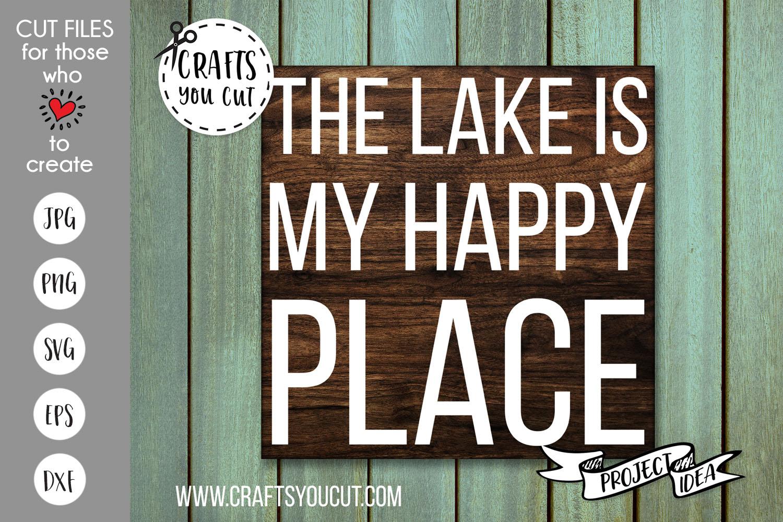 The Lake Bundle Vol. 2- A Summer/Lake SVG Cut File Bundle example image 7