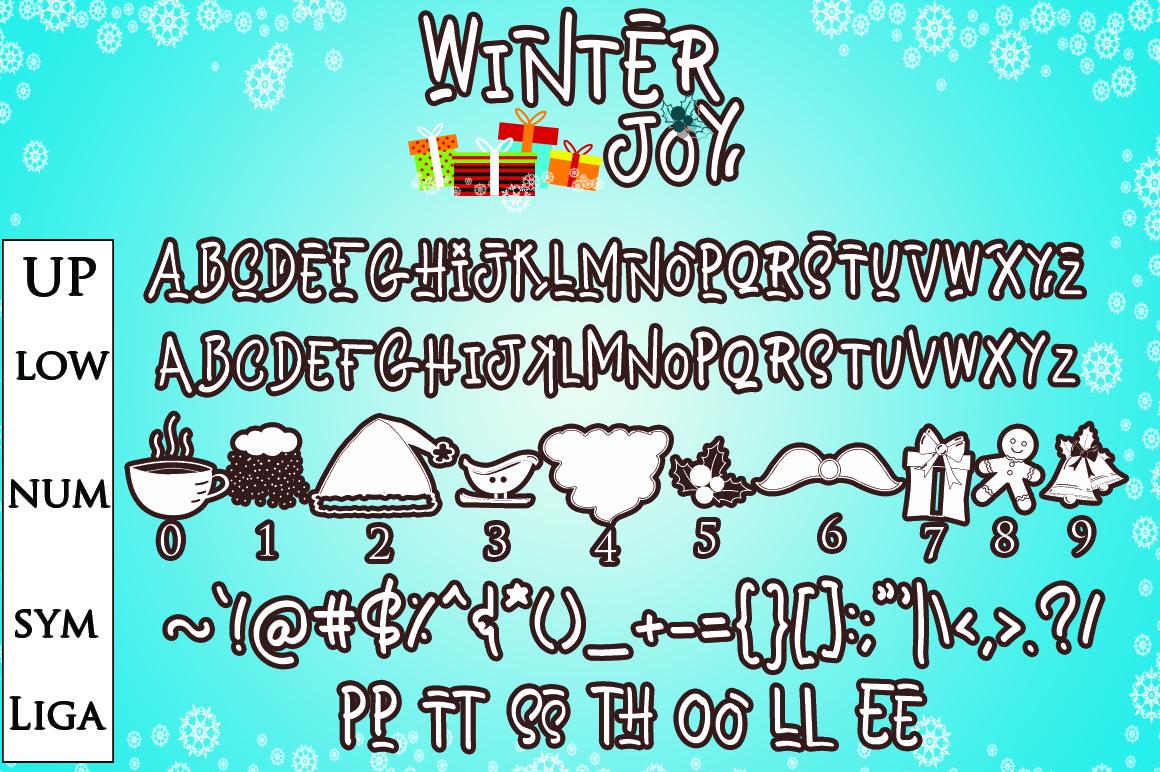 Winter Joy - Joyfully Font example image 6