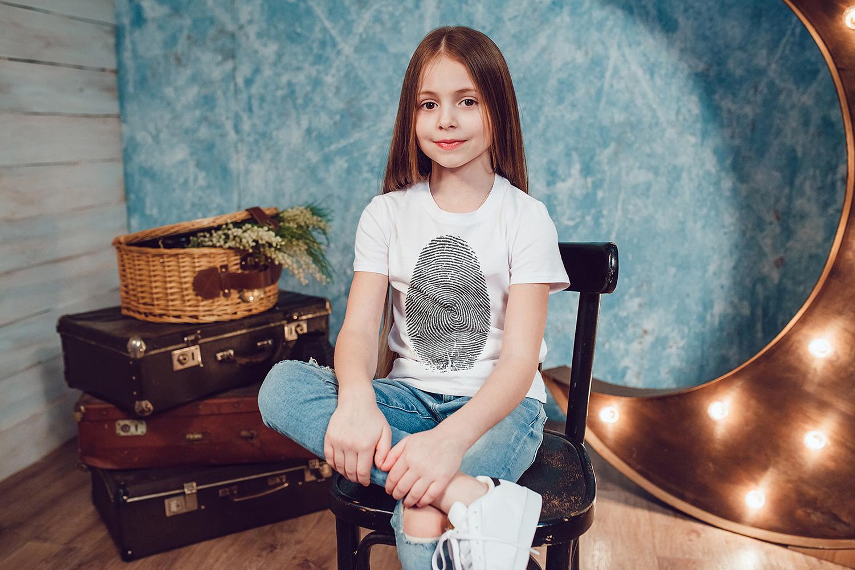 Kids T-Shirt Mock-Up Vol.1 2017 example image 7