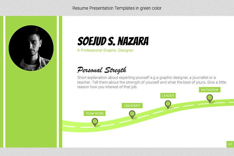 A4 Resume Templates Word example image 15
