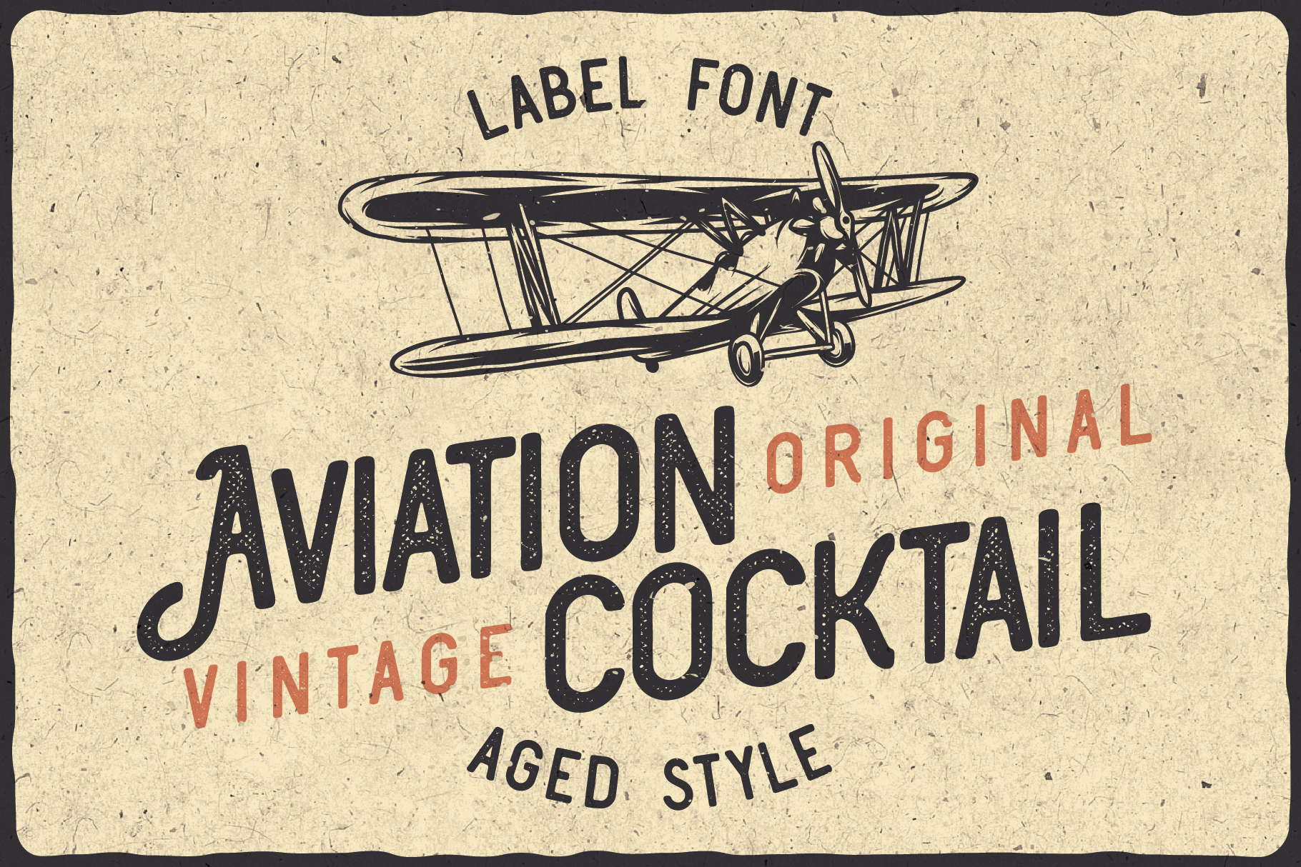 Aviation Cocktail Font plus BONUS example image 3