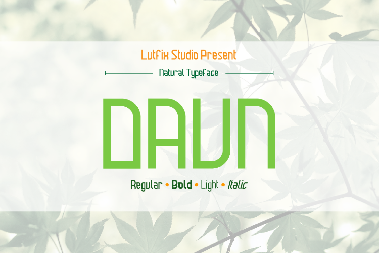 Daun Family example image 1