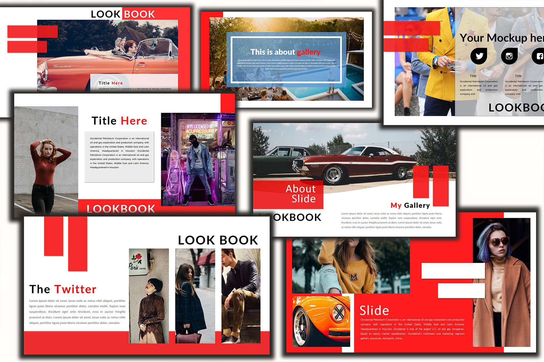 The Twitter Lookbook - Powerpoint example image 4