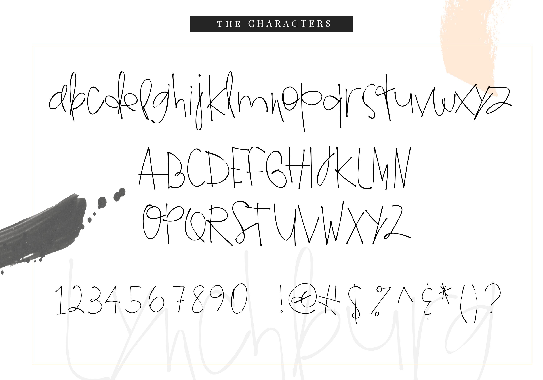 Lynchburg - Messy Handwritten Font example image 9