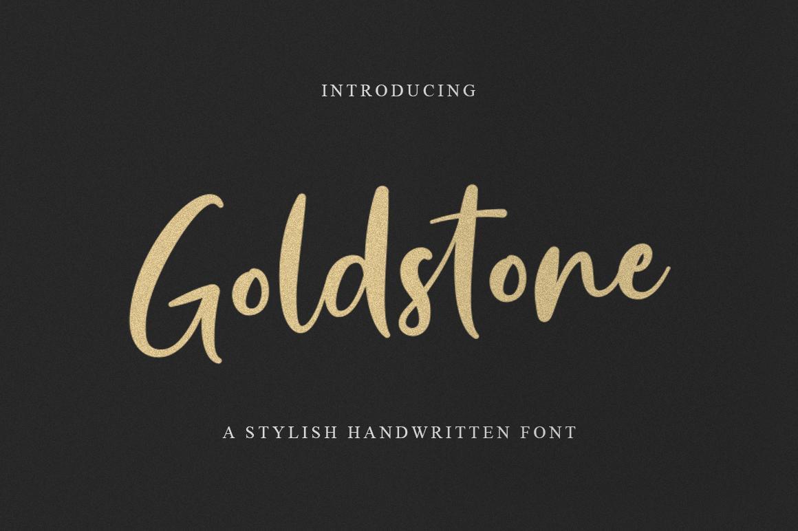 Goldstone - Stylish Handwritten Font example image 1