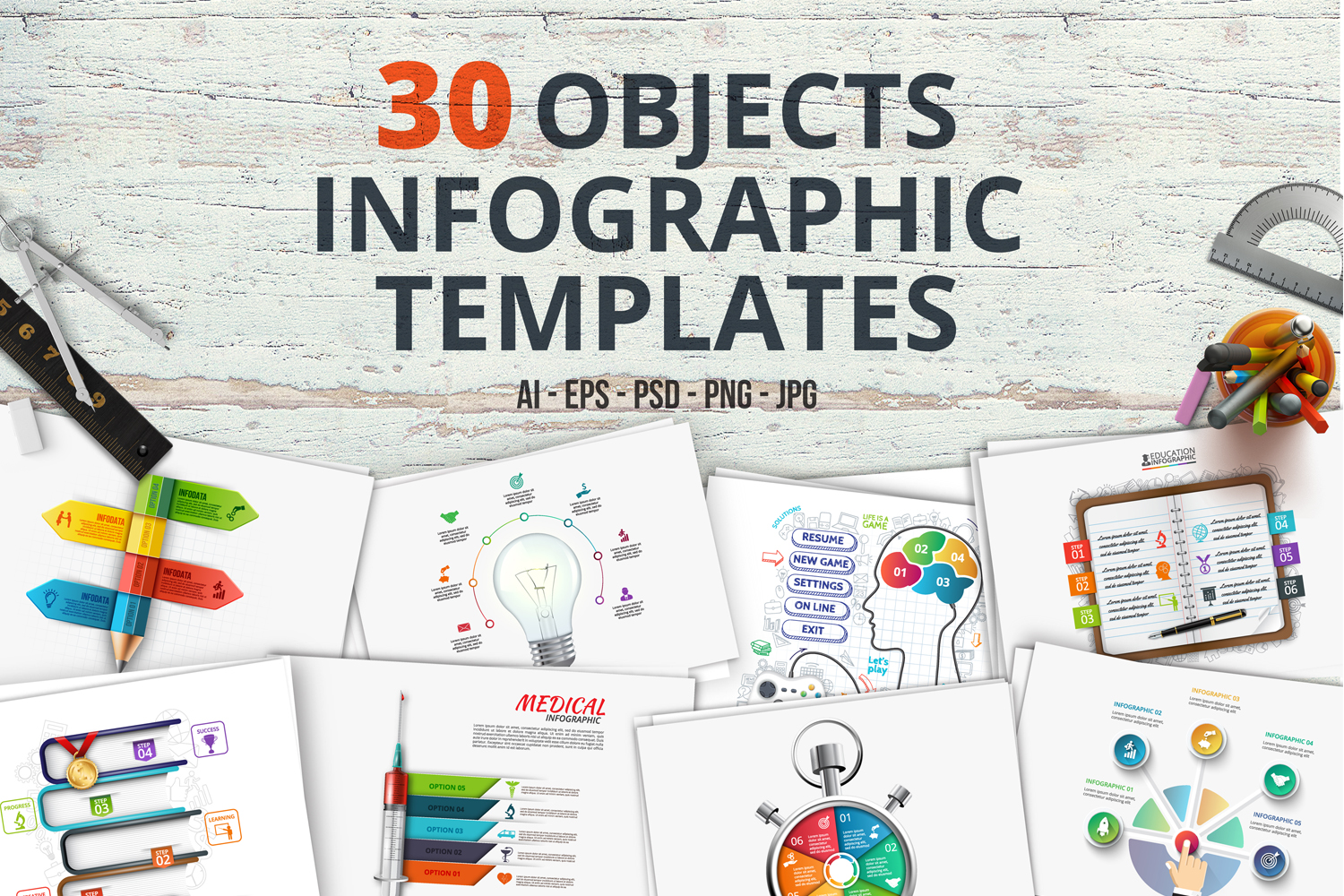 30 business infographic templates example image 1