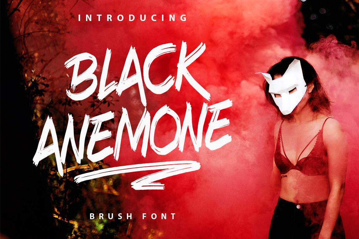 Black Anemone example image 1