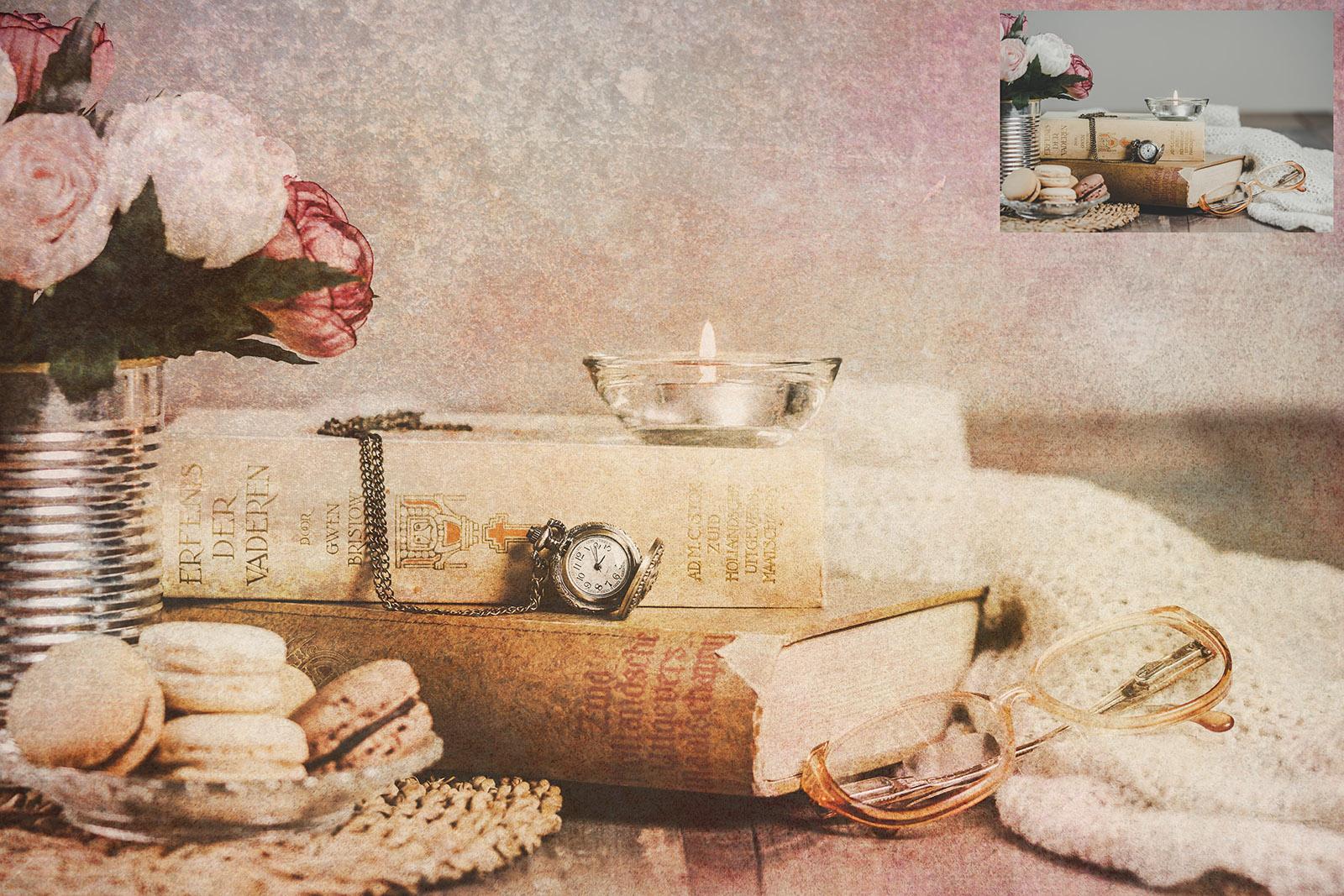 10 Fine Art BERRIES & CREAM Textures SET 1 example image 3