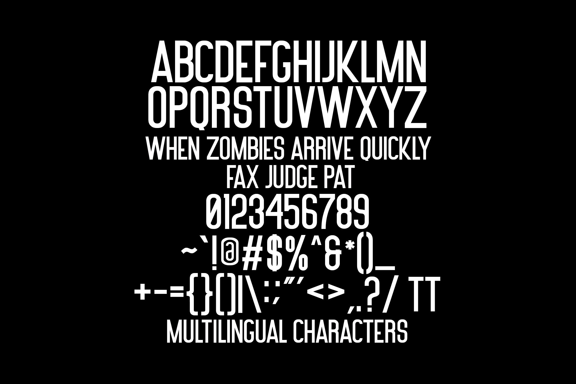Hello Subrim Typeface example image 8