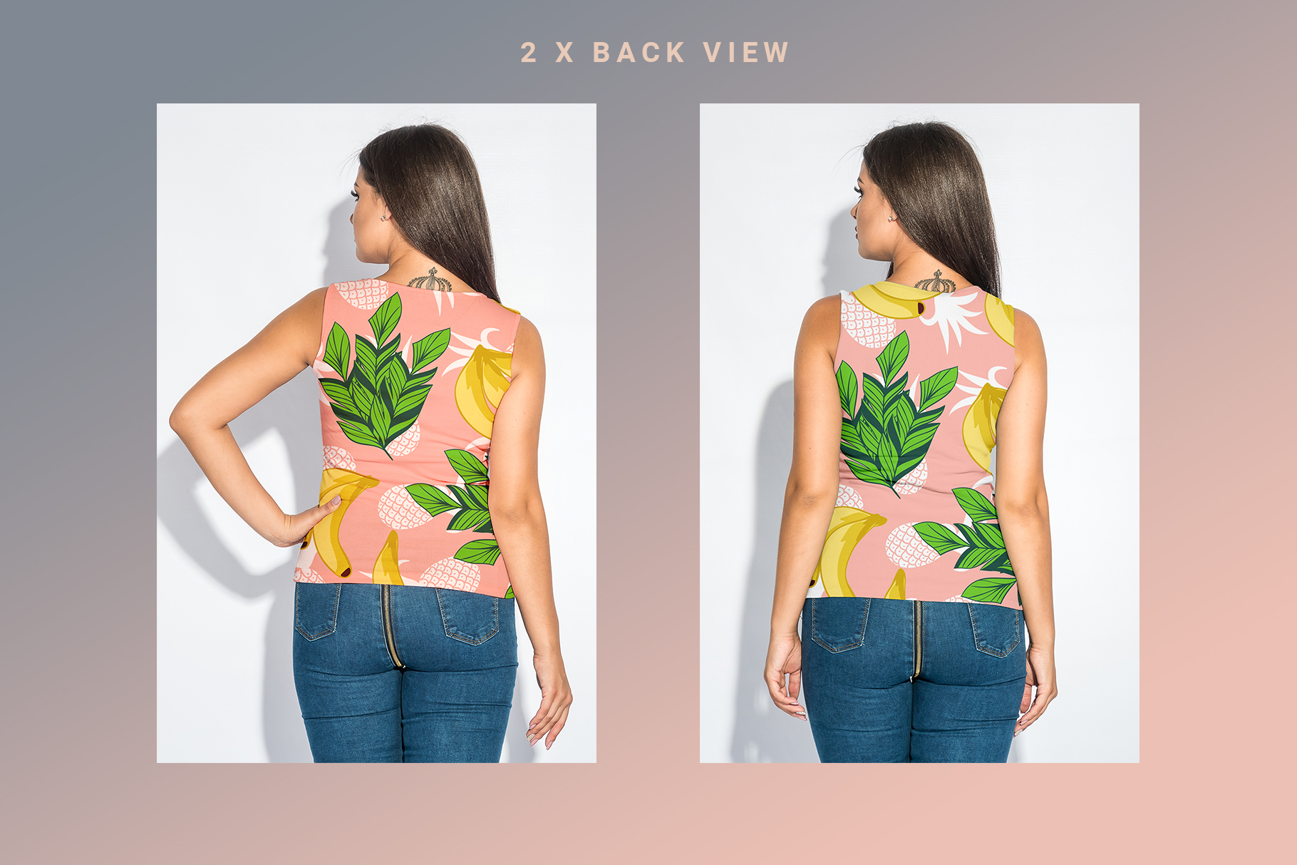 Plus Size T-shirt Mockup Bundle example image 10