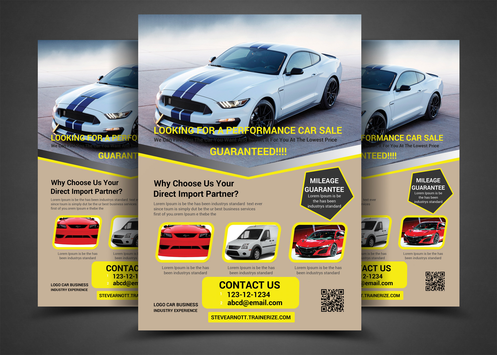 Car Bundle 7in1 Flyer example image 6